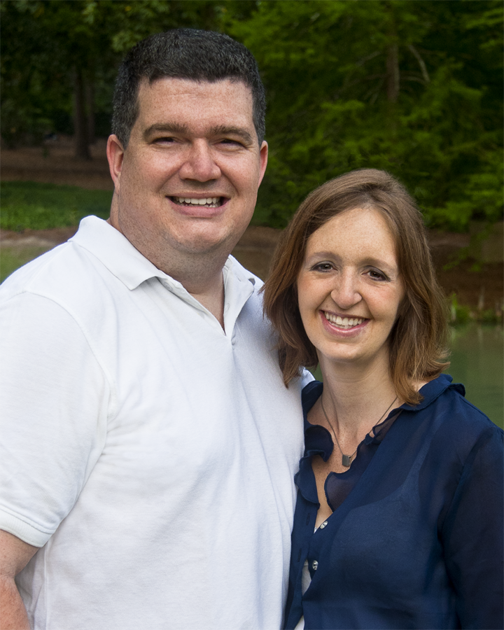 Mat and his wife, Paula